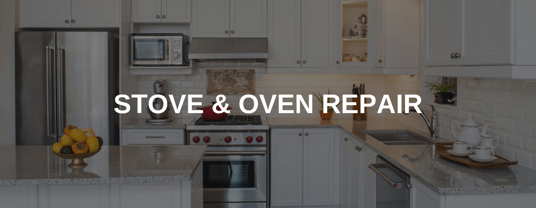 stove repair spokane