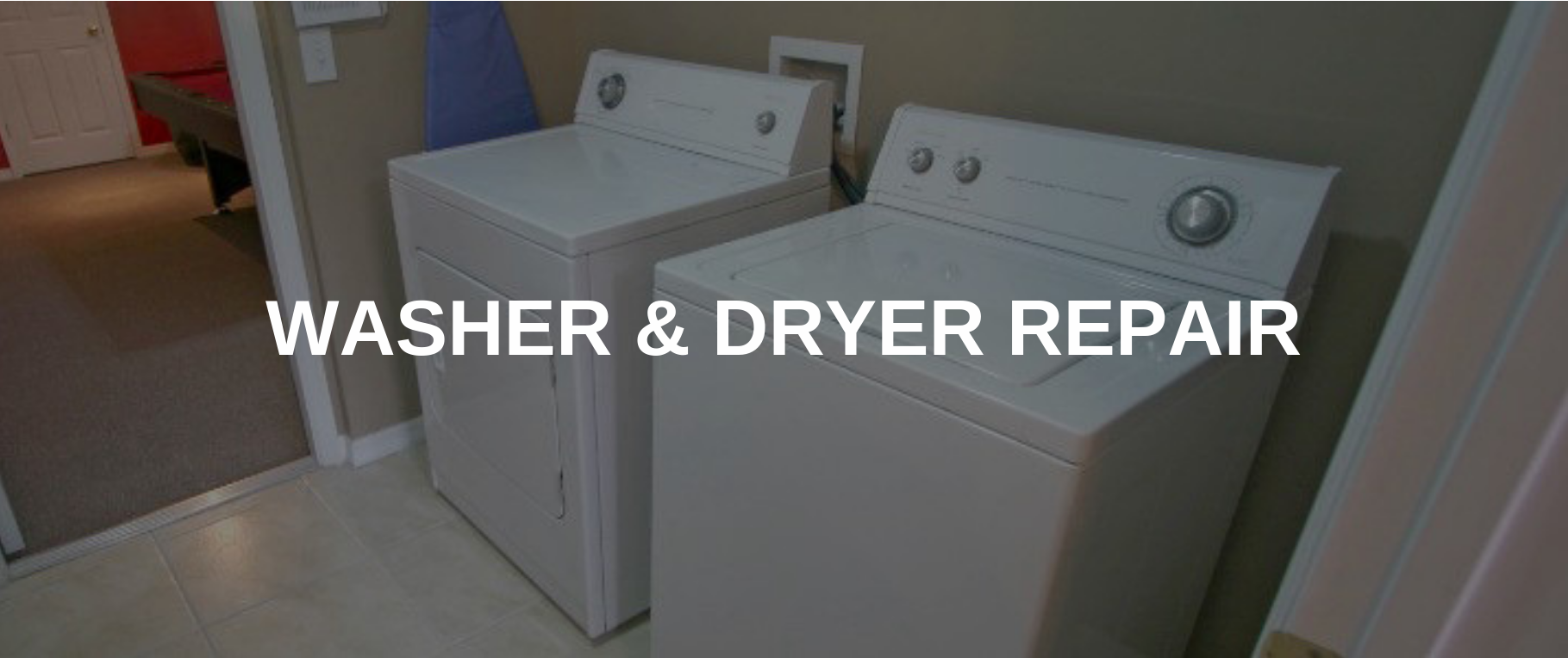washing machine repair spokane